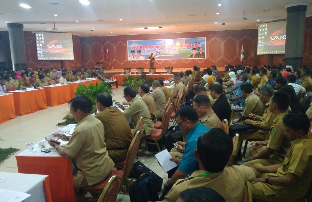 Ratusan Juru Pungut Desa Ikut Rakor Peningkatan PAD