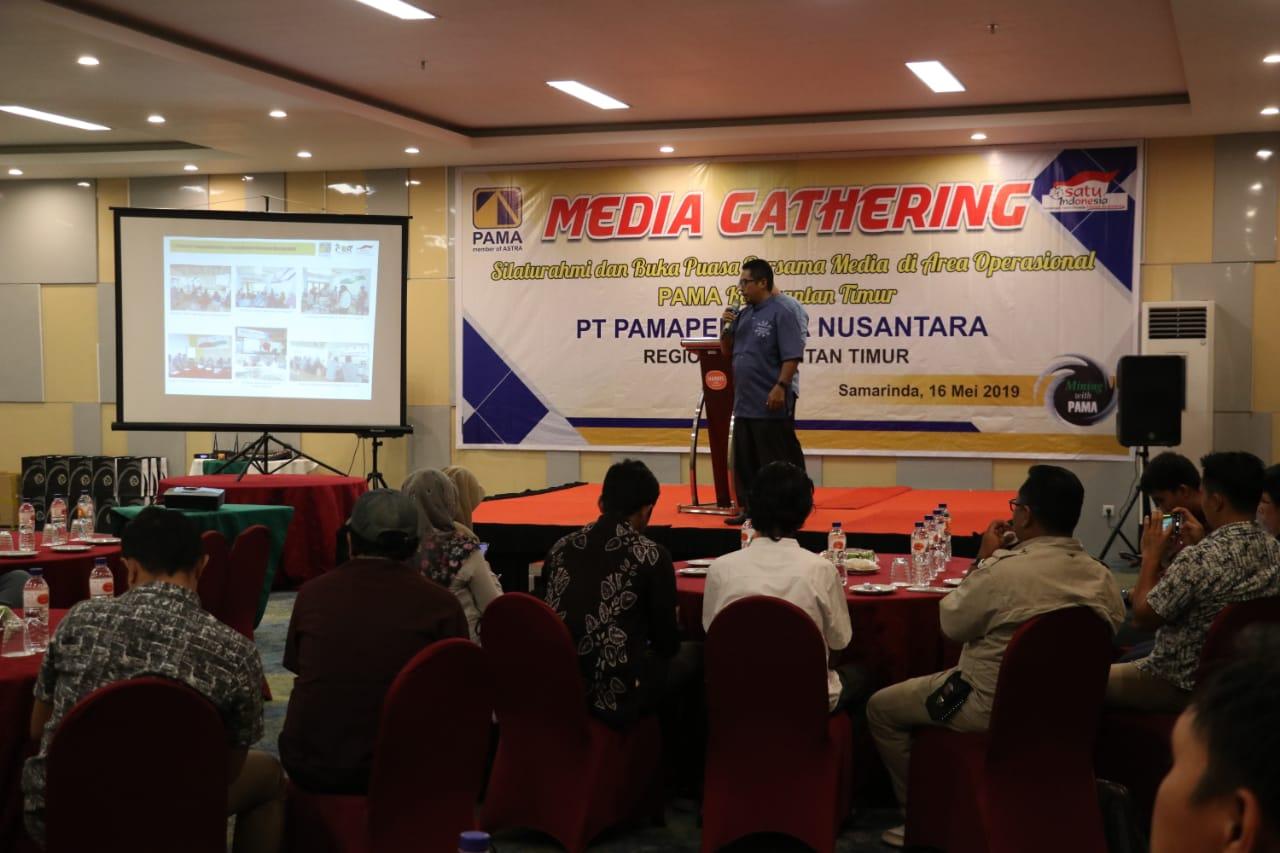 PT PAMA Kumpulkan Perwakilan Media se Kaltim