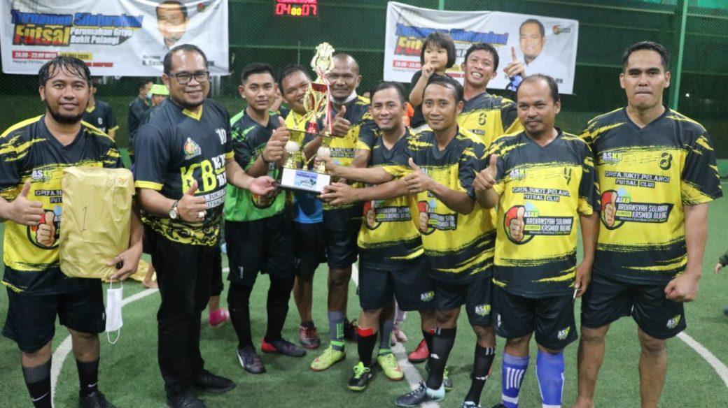 Buka Turnamen Futsal, Kasmidi Berharap Silaturahmi Ala Warga Perum GBP Ditiru RT Lain