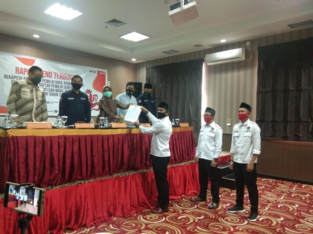 KPU Tetapkan Daftar Pemilih Sementara Kutai Timur 231.811 Orang