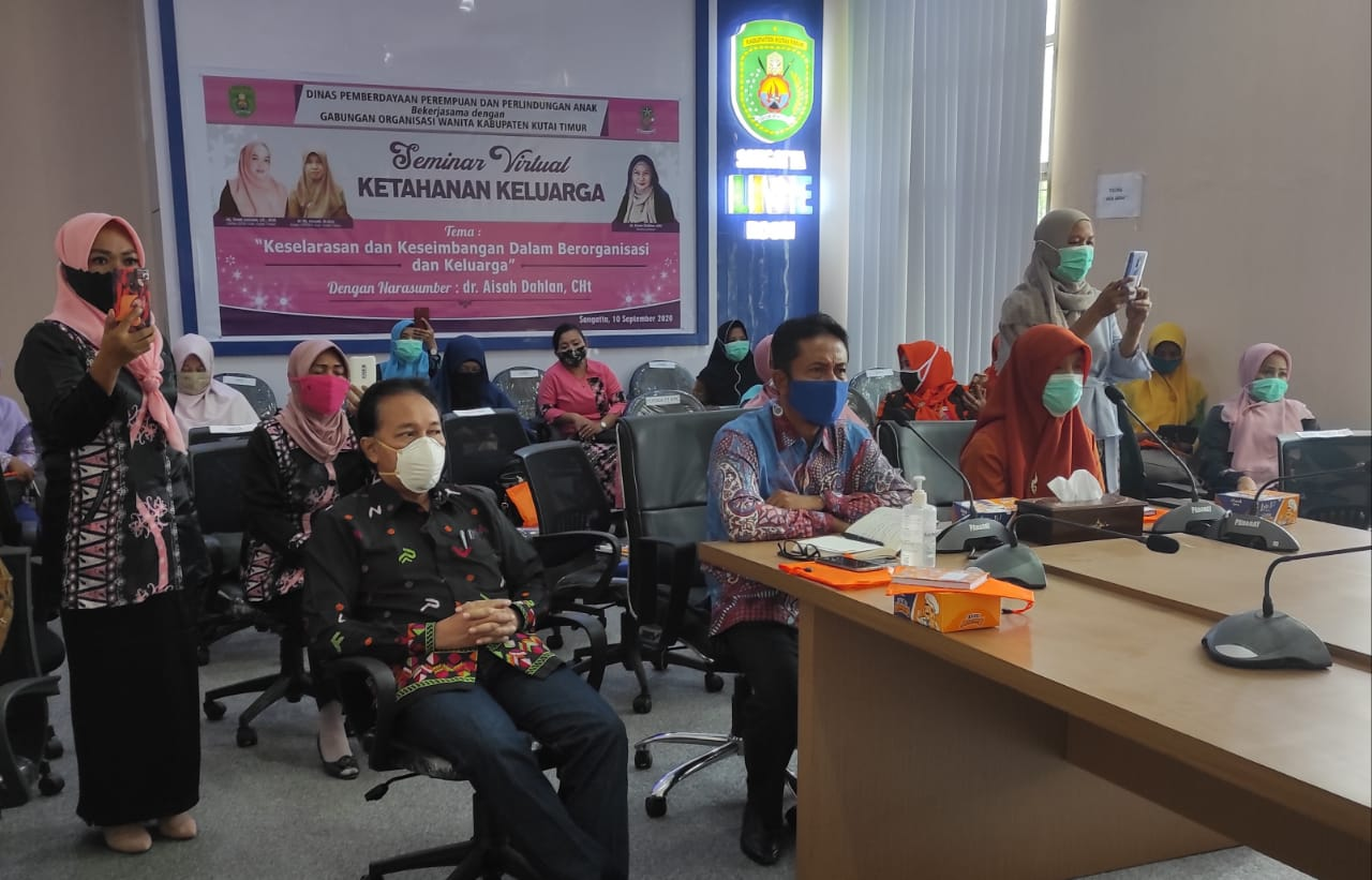 DP3A dan GOW Gelar Seminar Lewat Virtual