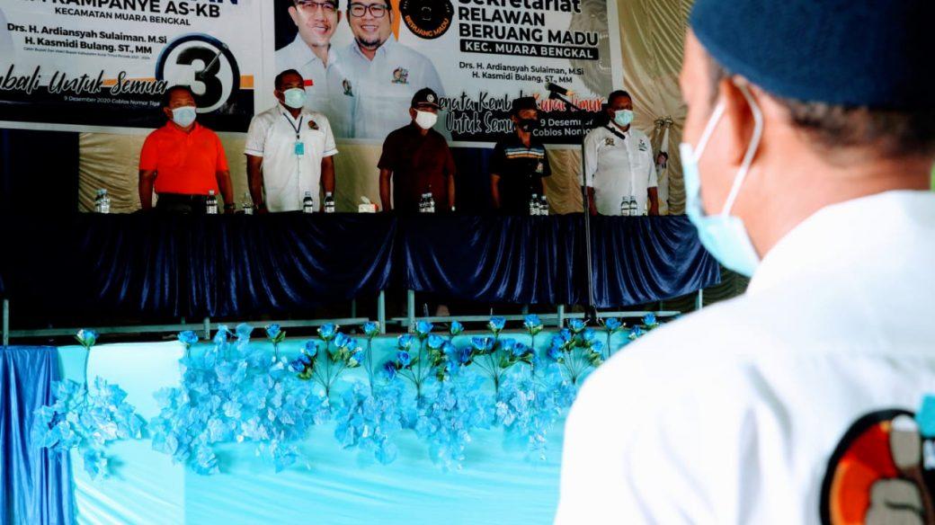 Tokoh Benteng Mawakkal Kampanyekan Nomor 3 ASKB