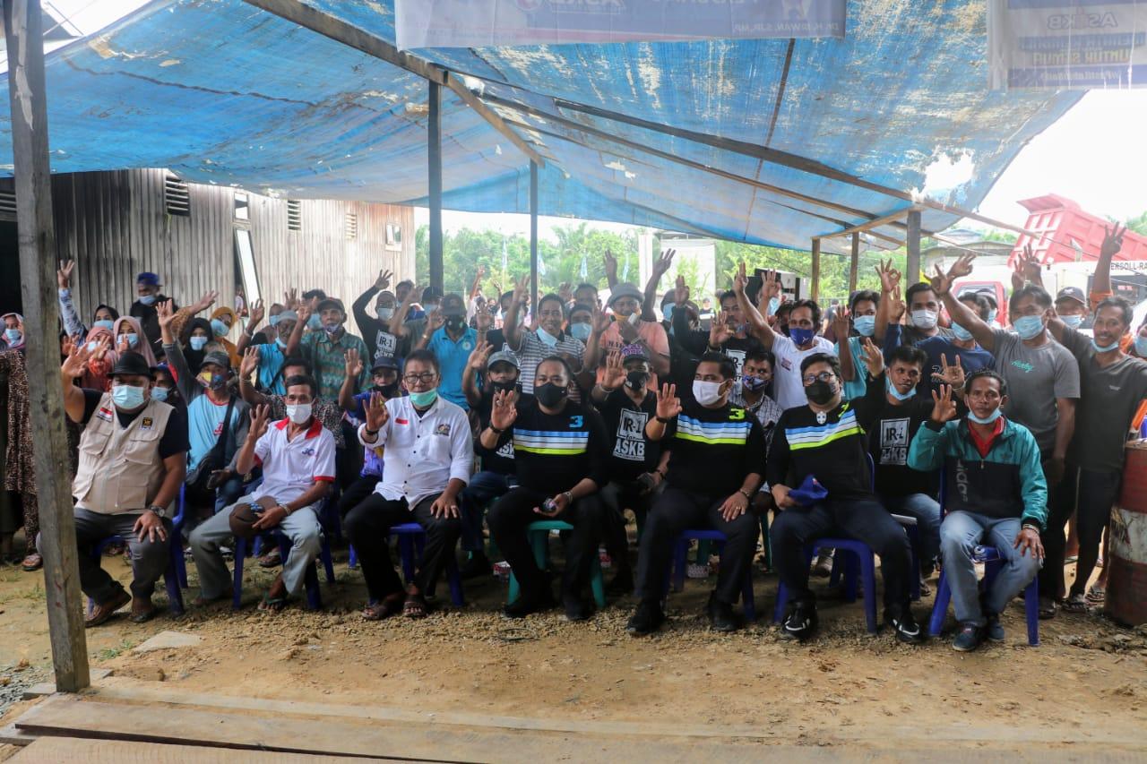 Kolaborasi ASKB dan Irwan akan Akhiri Penderitaan Warga Desa Perupuk