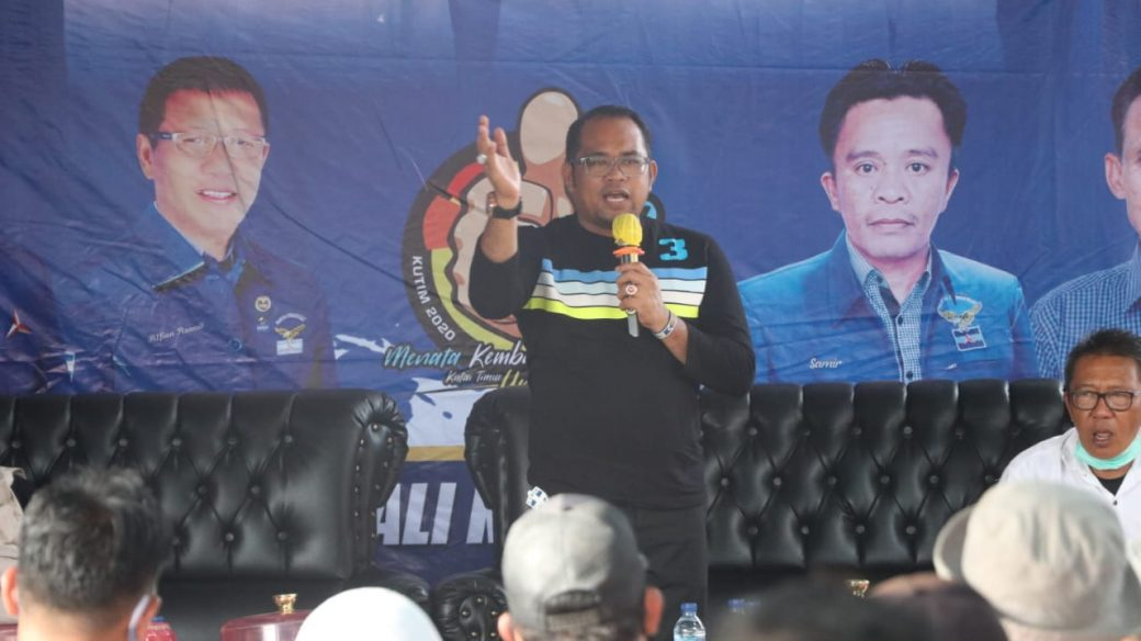 Alfian Aswad Ajak Warga Susuk Luar ke TPS dan Coblos ASKB nomor 3