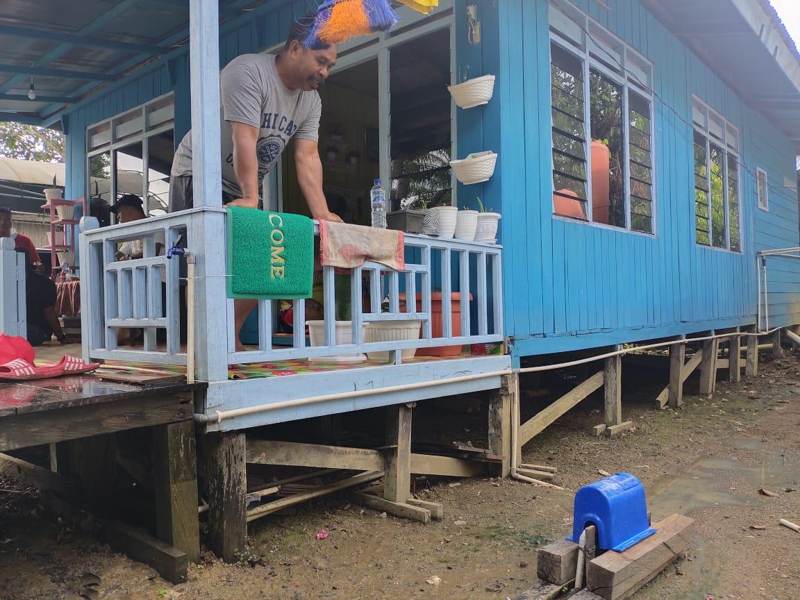 160 Rumah di Desa Mawai Indah Sudah Menikmati Layanan Spamdes Dari Tahun 2018