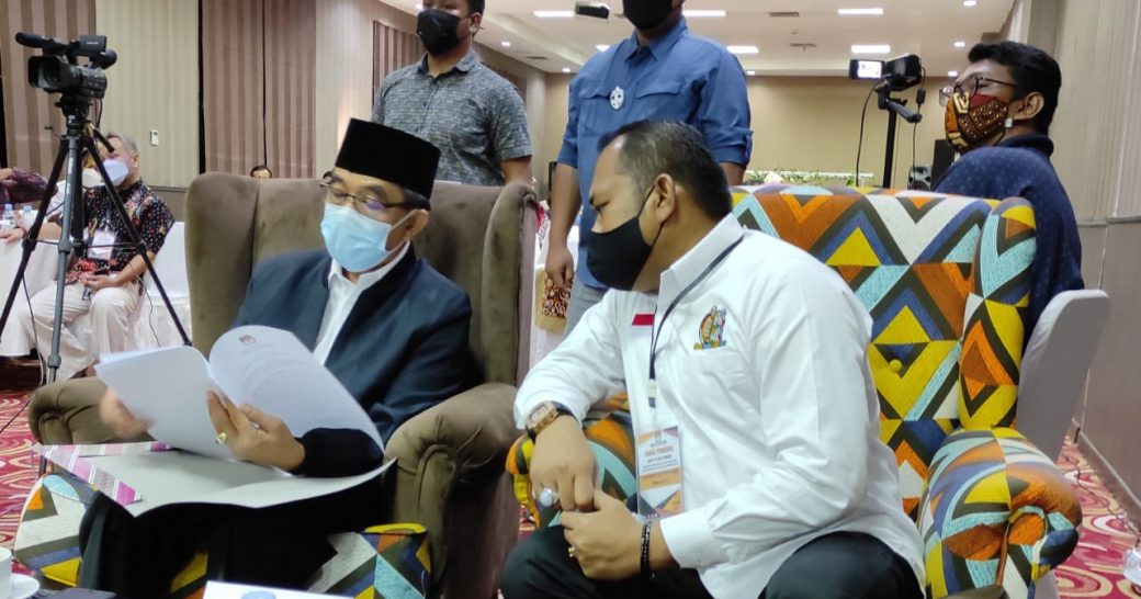 Ardiansyah Sulaiman dan Kasmidi Bulang Ditetapkan Sebagai Kepala Daerah Terpilih Oleh KPU Kab. Kutai Timur