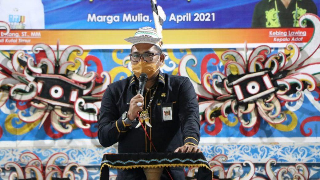 Mecaq Undat Diusulkan Masuk Dalam Program Tahunan Untuk Promosi Pariwisata dan Budaya Oleh Wabup Kasmidi Bulang