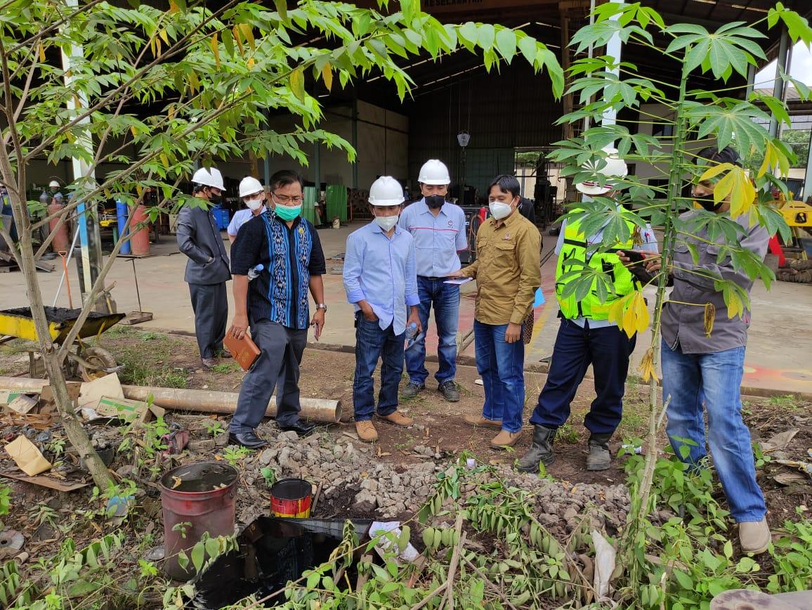 Gabungan Komisi A, C dan D Melakukan Sidak Terkait Limbah Industri Yang Mencemari Drainase Pemukiman Kampung Tator