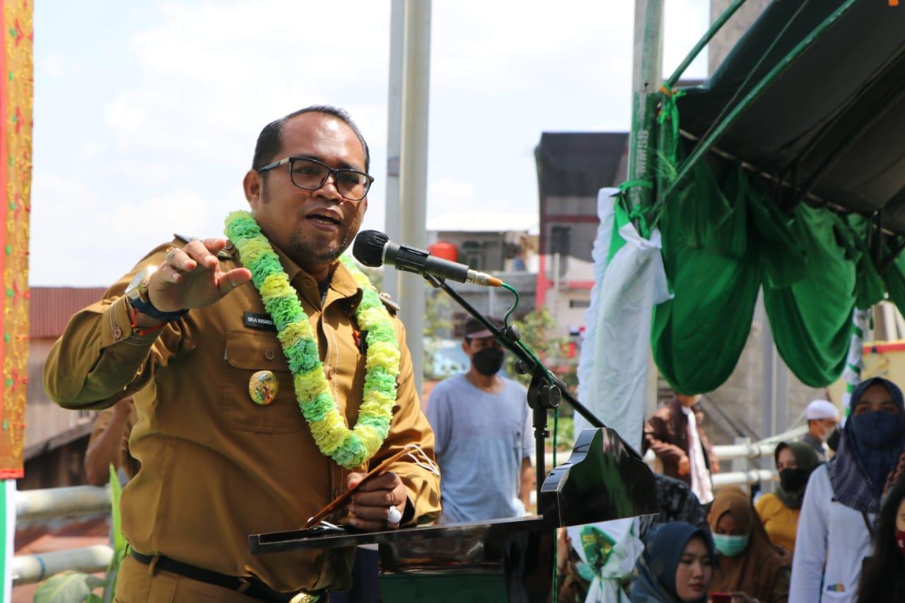 Wakil Bupati Kutim Kasmidi Bulang ; Keberadaan Jembatan Akan Menjadi Akselerasi Ekonomi