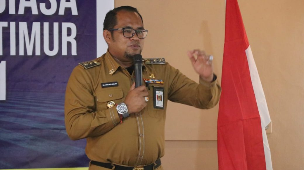 Kasmidi Bulang Dipercaya Pimpin PSSI Kutim