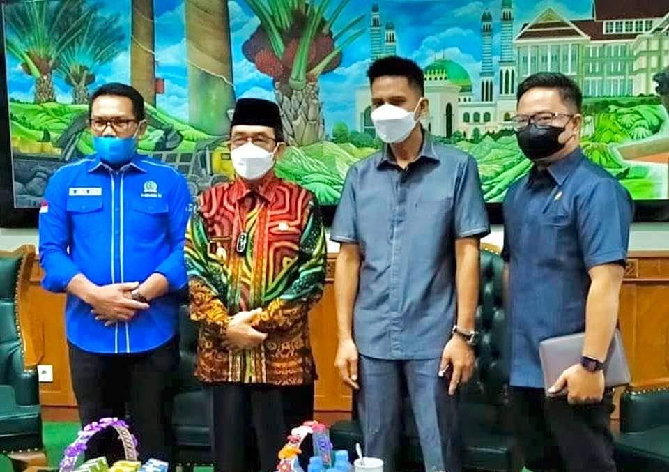 Banggar DPRD Provinsi Kaltim Berkunjung Ke Kutim Terkait Bankeu TA 2022