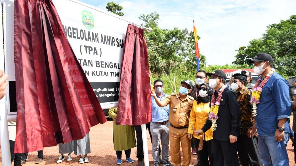 TPA Kecamatan Bengalon Yang Dibangun KPC Resmi Beroperasi